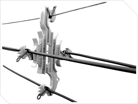 Espaciador Poligonal - (35 kV)